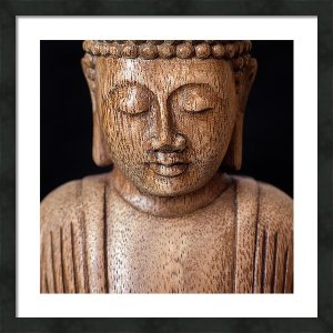 Buddha - Minimalistický čtvercový fotoobraz na stěnu