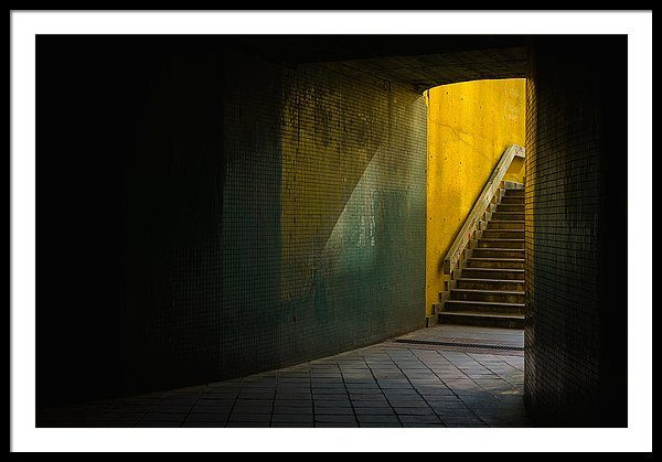 Dark Underpass - Fine art photography print 122cm x 81cm
