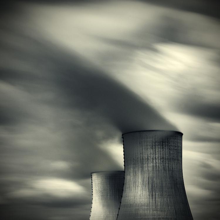 Chladící věže - fotograf Lionel Orriols