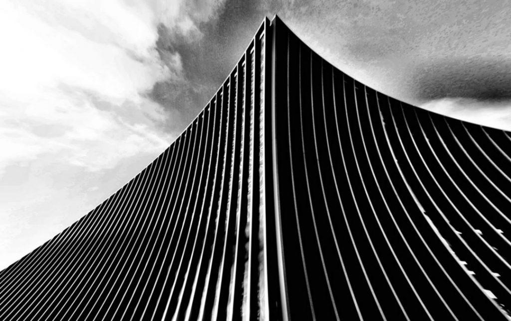Minimalistická architektonická fotografie od fotografky Madiha Abdo