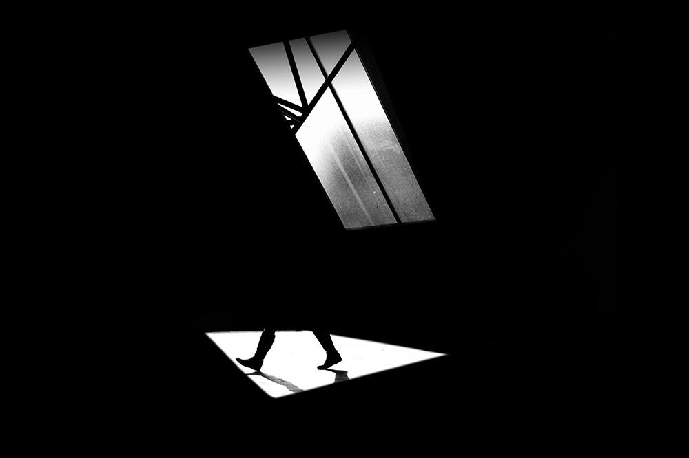 Černobílá fotografie od fotografky Madiha Abdo