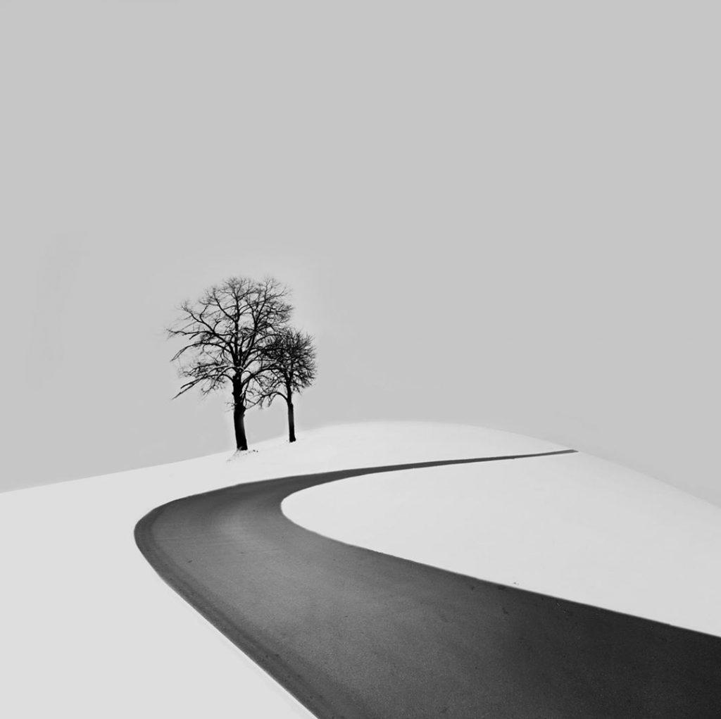 Kombinace fotografie a grafiky - Andrej Šafhalter