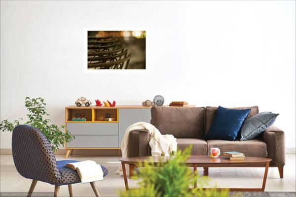 Vizualizace fotoobrazu na stěně