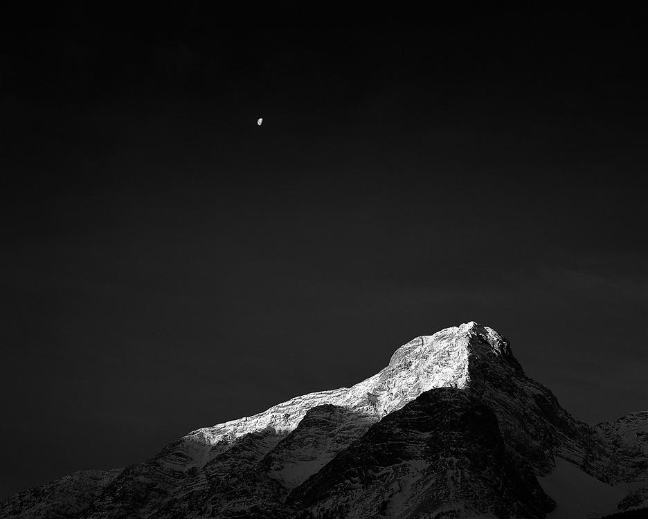 Měsíc nad Kozí horou od fotografa Oliviera Du Tre