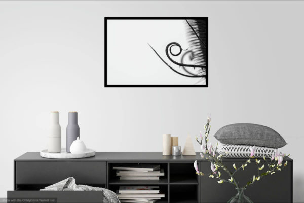 Golden Spiral Flower - Wall Art Visualization