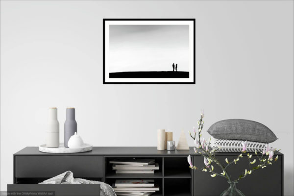 Silhouette - Fine art photography print - Wall Visualization