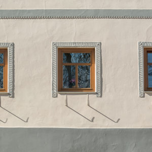 Three Windows - Minimalism on Photography Print