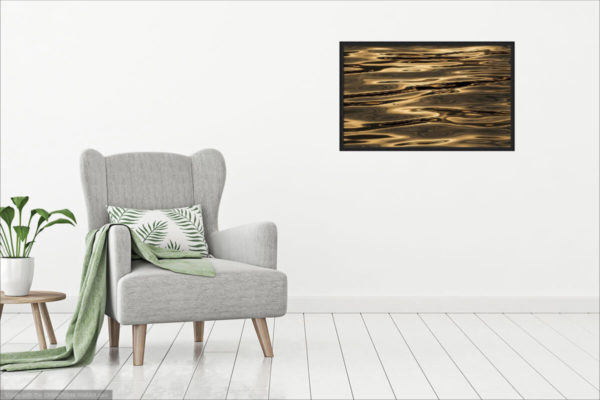 Visualization of Minimalist Photography Print on the Room Wall
