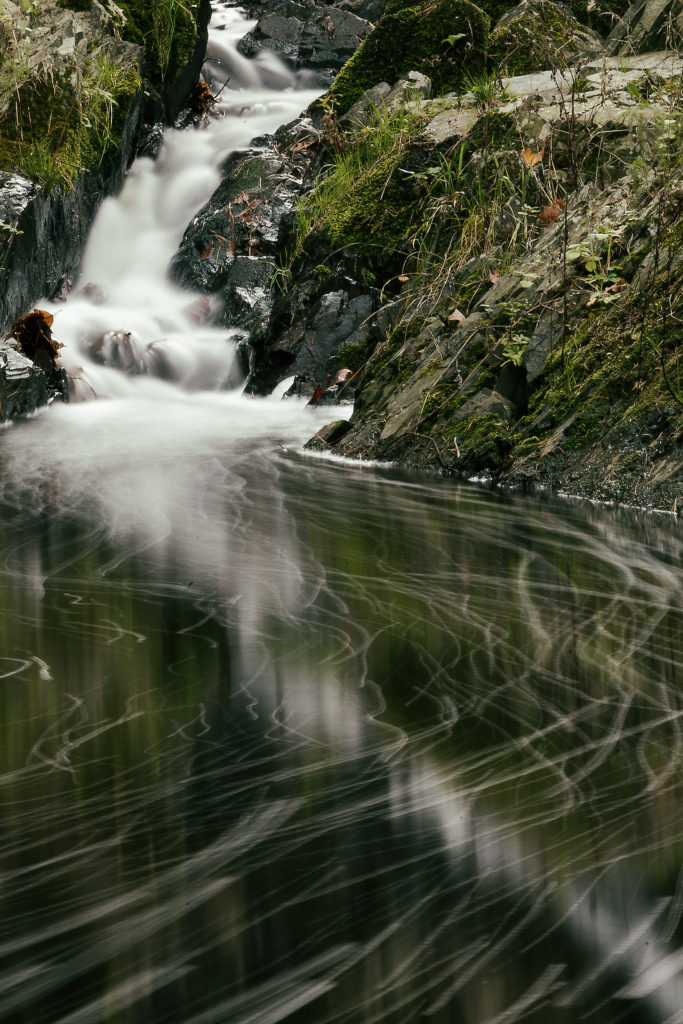 Fotografie vody s dlouhým expozičním časem