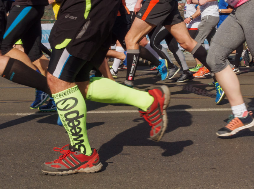 Běžci na Pražském maratonu