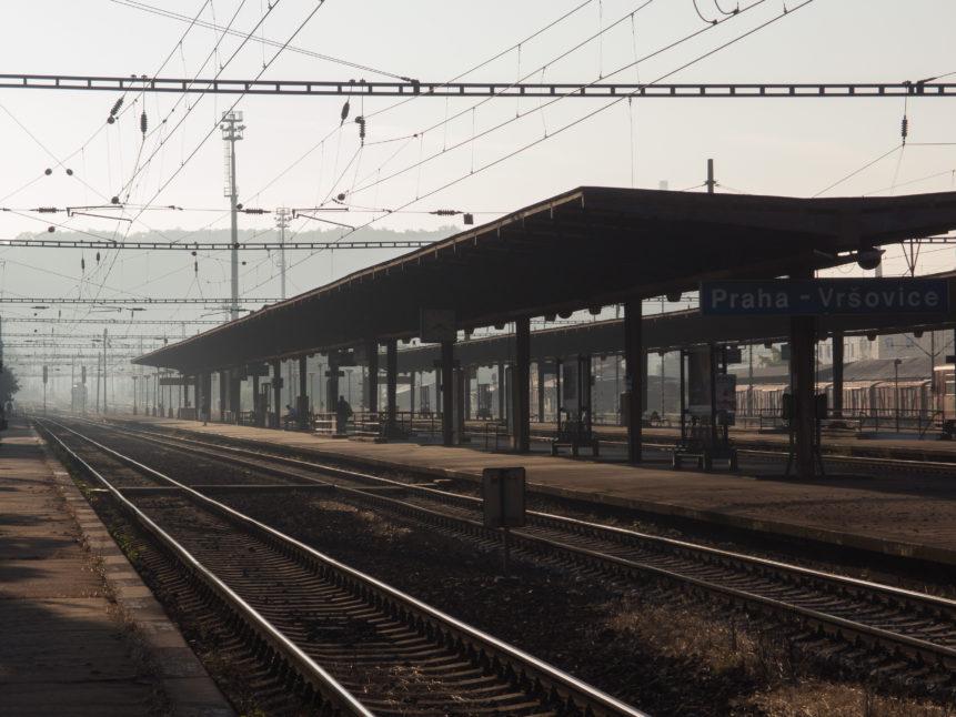 Ráno na Vršovickém nádraží
