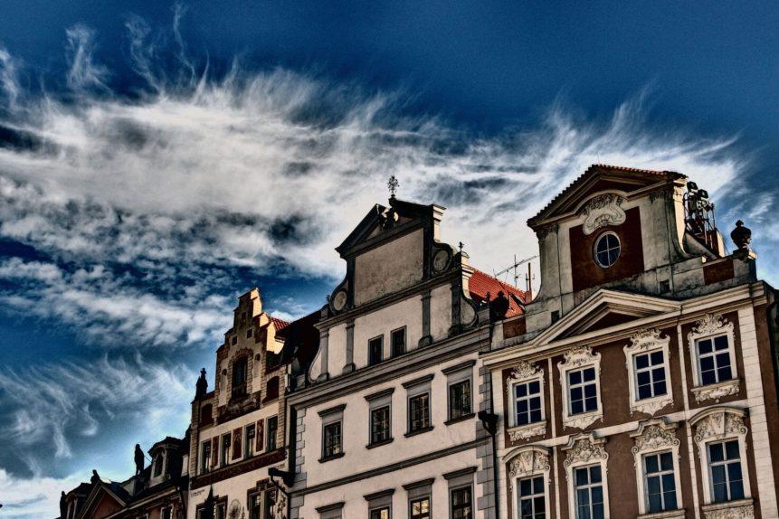 Domy na Staroměstské náměstí