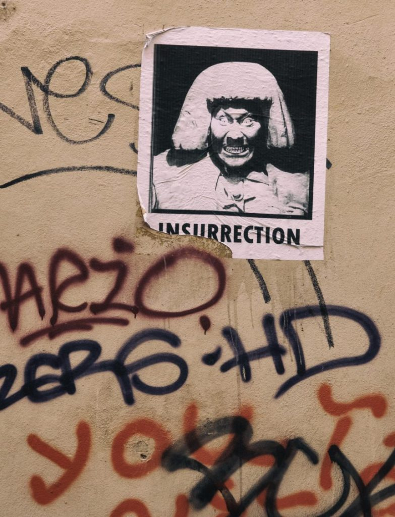 Street art - Insurrection