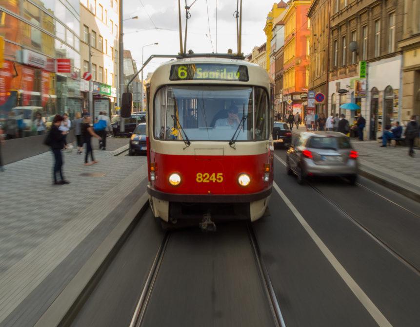 Pražská tramvaj T3