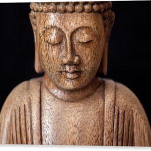 Buddha - Minimalistický fotoobraz na plátně