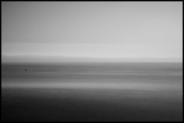 Foto obraz moře s černým rámem